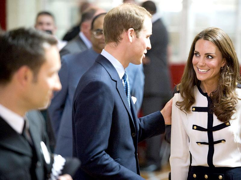 Britain's Prince William and Catherine the Duchess of Cambridge visit the Summerfield Community Centre, in the Winson Green area of Birmingham. (Reuters/Geoff Pugh/Pool)