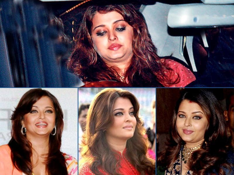 New mom Aishwarya Rai is happy playing a doting mother for the time being. No wonder that losing weight is the last thing on her mind right now. And we certainly don't mind it as the diva looks comfortable in her skin.