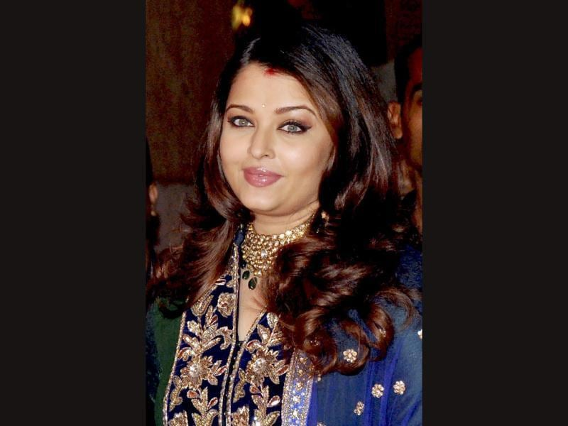 Aishwarya Rai seems to be unperturbed by her recent weight gain.