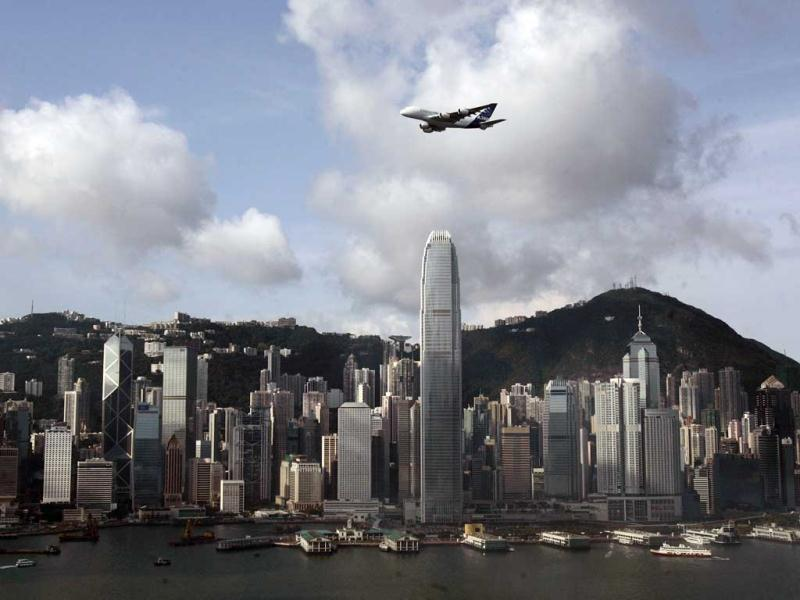 Hong Kong's Two International Financial Center is the eleventh tallest.(Reuters)