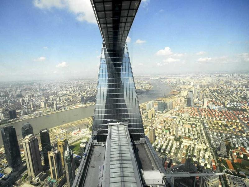 The Shanghai World Financial Center is third.(Reuters)