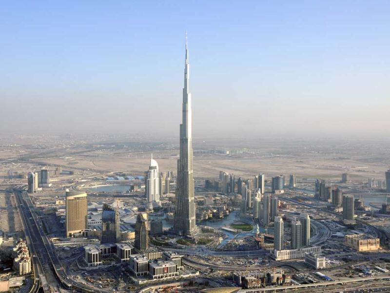 Dubai's Burj Khalifa is currently the tallest building in the world.(Reuters)