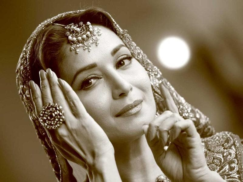 Madhuri Dixit's expressive performance can bring flavour to the show.