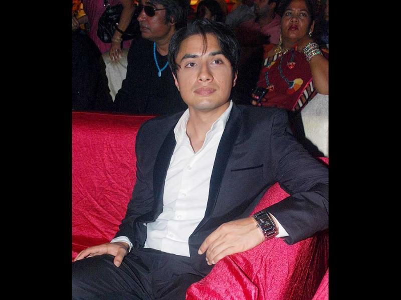 Pakistani singer-actor Ali Zafar during the Dadasaheb Phalke Academy Award 2012 function, in Mumbai on Thursday night.