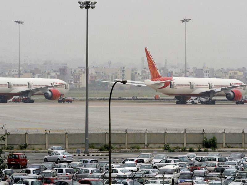 The land-locked Mumbai airport has traditionally struggled to augment capacity owing to space constraints. (Virendra Singh Gosain/HT photo)