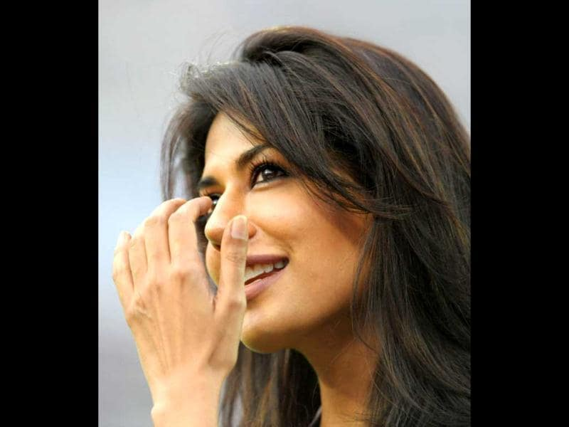 Although Chitrangada Singh is from Delhi, she was on the other side.