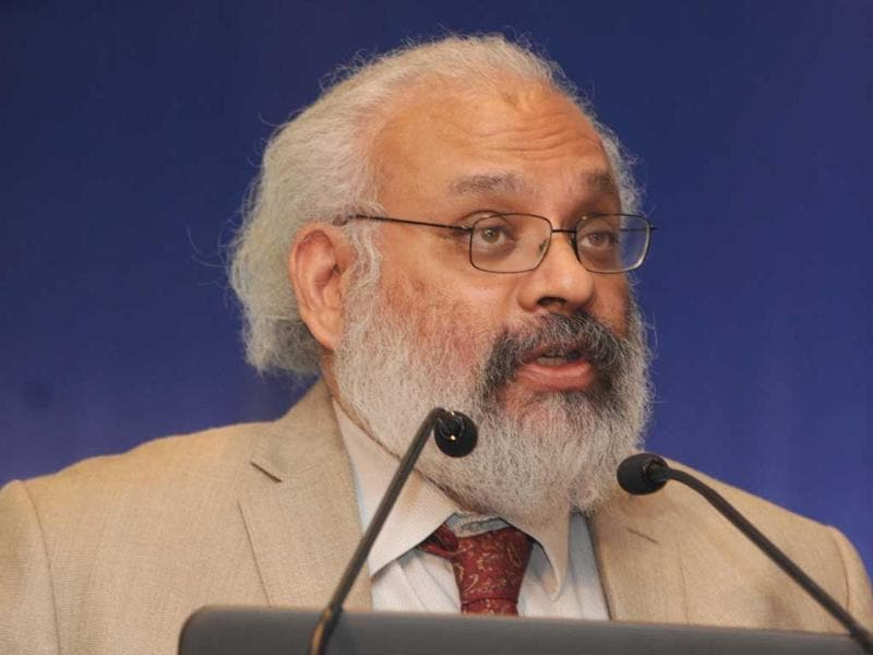 A file photo of Subir Gokarn, former RBI deputy governor and research director at Brookings India. UNI photo
