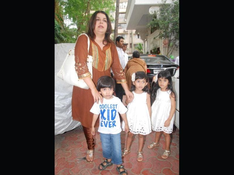 Farah Khan is an accomplished choreographer, successful director and a doting mom of triplets- Czar, Diva and Anya. She is now venturing into acting with Shirin Farhad Ki Nikal Padi.