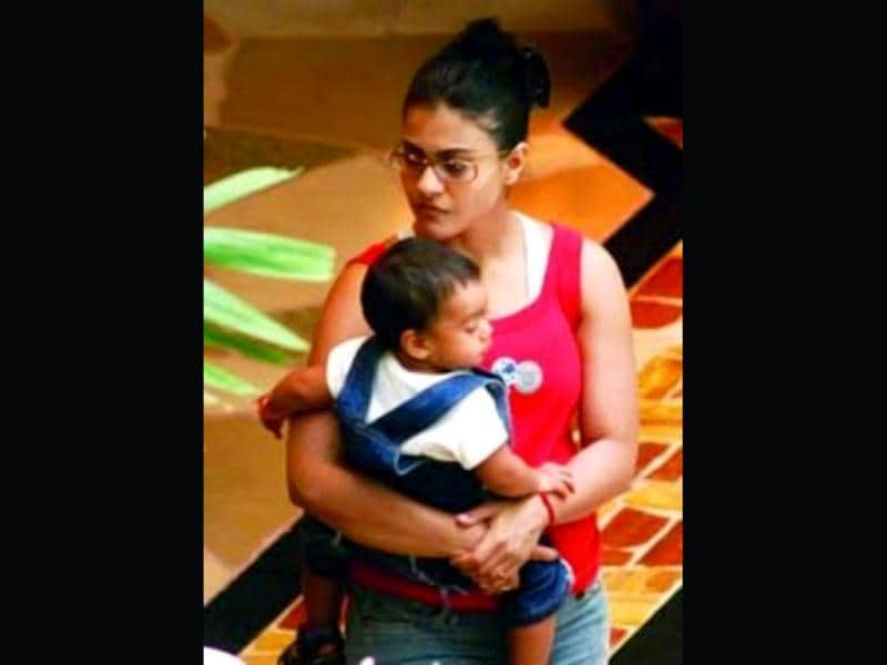 One of Bollywood's greatest actors, Kajol is a proud mom of two- Nysa and Yug.