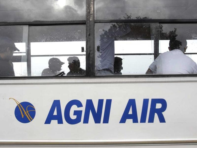 An AGNI plane carrying several Indian passengers crashed at Jomsom Airport in Nepal. In this file photo, an AGNI air bus in Nepal.