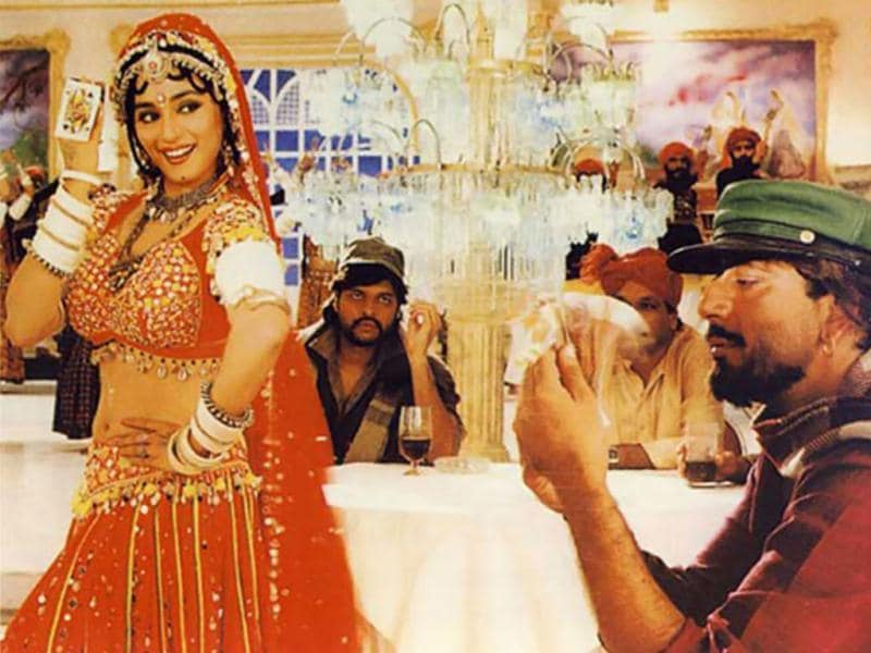Choli Ke Peeche: The controversial number sung by Ila Arun and Alka Yagnik from the film Khalnayak ruled chartbusters for a very long time.