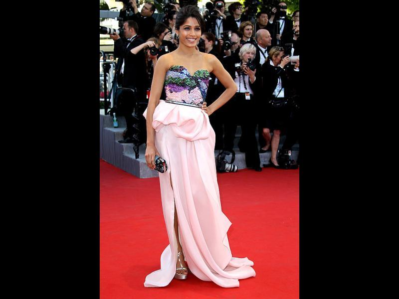 Freida Pinto became famous in Hollywood after her Oscar-winning film, Slumdog Millionaire.