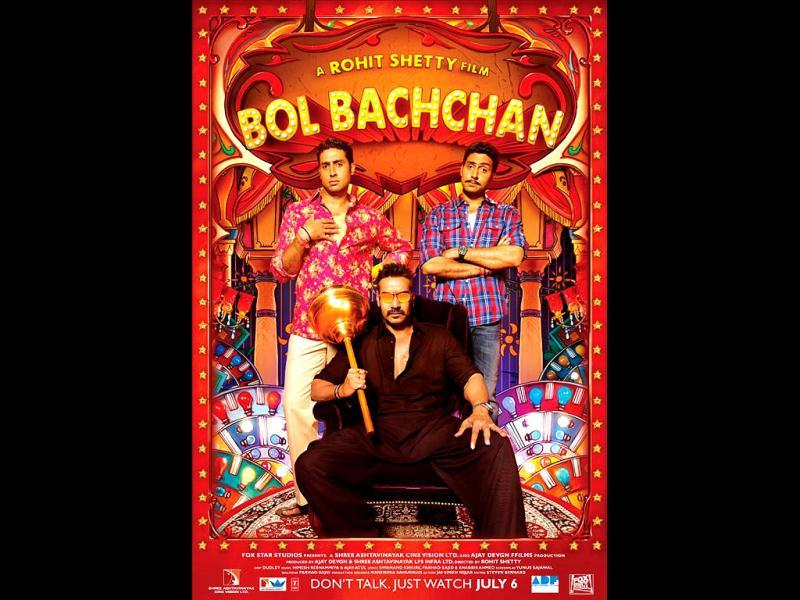 Another movie that entered the Rs 100 crore-club this year was Bol Bachchan. Ajay Devgn, Abhishek Bachchan, Asin Thottumkal and Prachi Desai were seen in the comic flick that released on July 6.