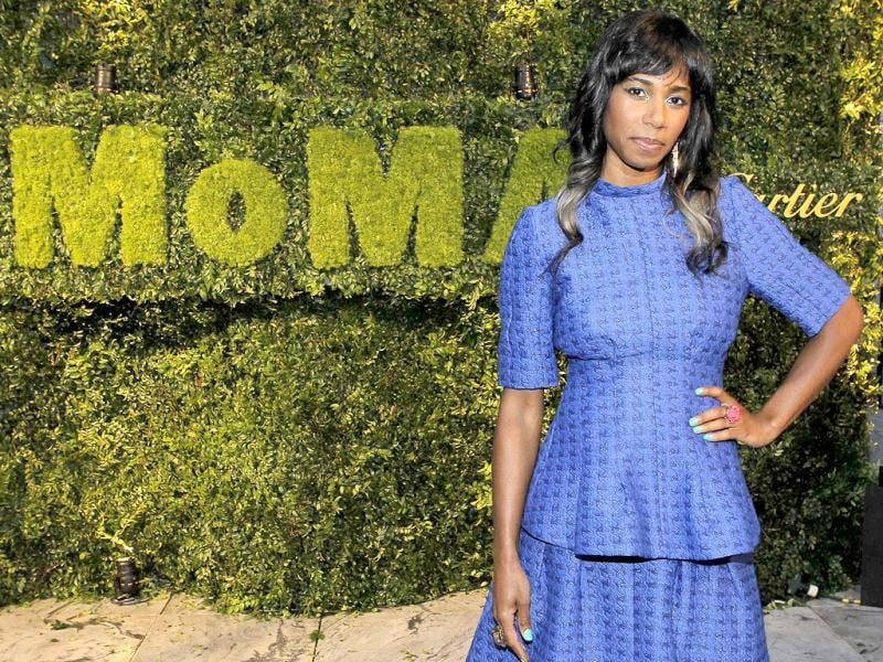 Singer Santigold attends the Museum of Modern Art's