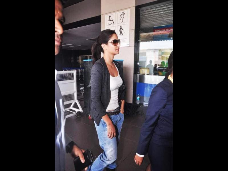 Katrina Kaif can manage to look good even in plain clothes.