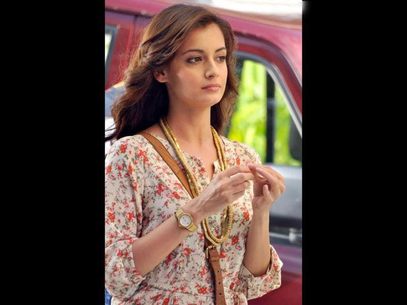 Dia Mirza is a beautiful actor who can't really act.