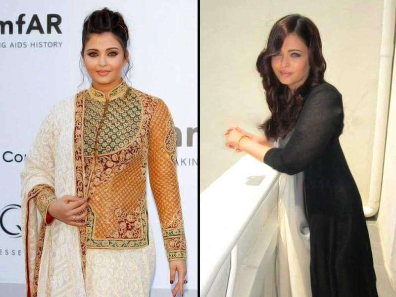 Aishwarya Rai has been given thumbs up for her recent Cannes appearance. Here's a look at Aishwarya's previous Cannes outings.