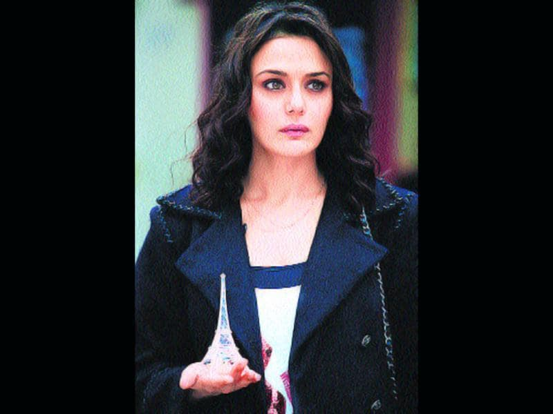 Preity Zinta's comeback film Ishkq In Paris, which is her home production also, is expected to release on October 5.