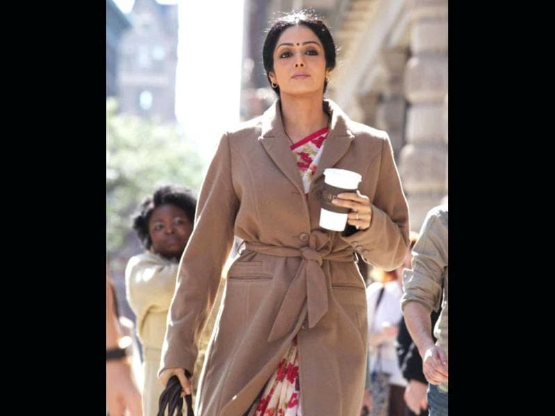 Sridevi would be seen playing a housewife in R Balki's English Vinglish.
