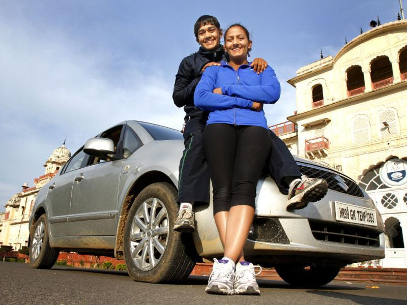 The wrestling sisters Geeta and Babita won a total sum of R1.25 crore at the Commonwealth Games, where Geeta bagged gold and Babita, silverPhoto credit: Rajnish Katyal