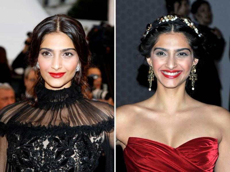 Following the tremendous hype about Sonam Kapoor going to Cannes, it certainly is a disappointment to see India's fashionista fair so poorly at the Cannes red carpet. Check out for yourself.