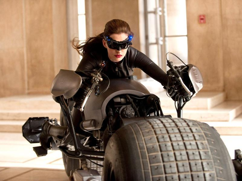The film also see Anne Hathaway play Catwoman and her alter ego Selina Kyle.