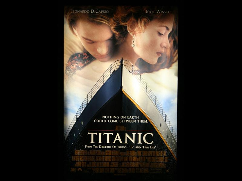 Titanic: A 1997 American epic romantic disaster, Titanic (also directed by James Cameron) was a fictionalized account of the sinking of the RMS Titanic. It won eleven Academy Awards.