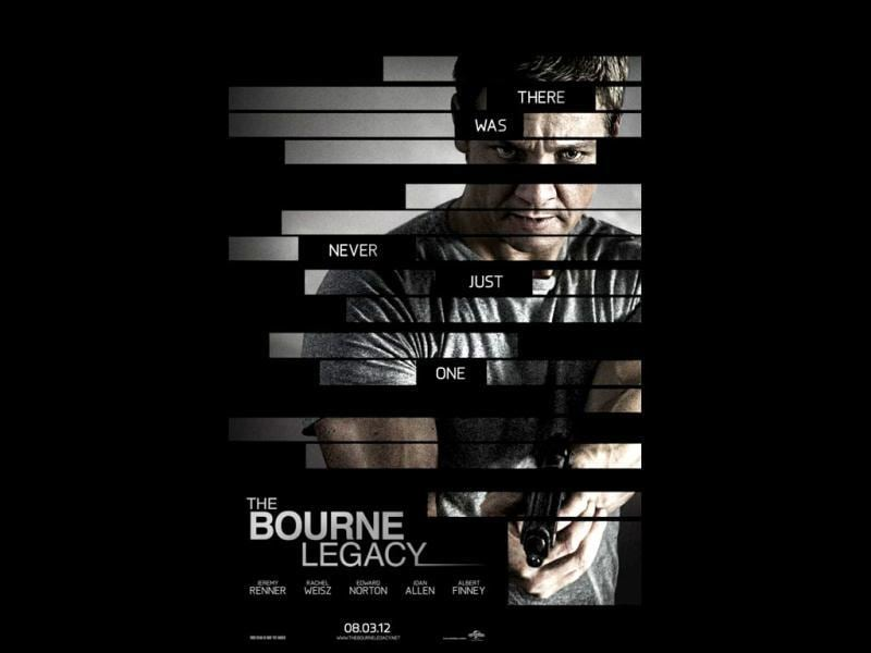 Bourne LegacyWith Matt Damon on hiatus from this franchise, the fourth installment, based on Robert Ludlum's novels, features Oscar winner Jeremy Renner (The Avengers), Rachel Weisz and Edward Norton in the story of a CIA operative on the run. Directed by Tony Gilroy (Duplicity).Release dates: August 3 to 23 in most markets