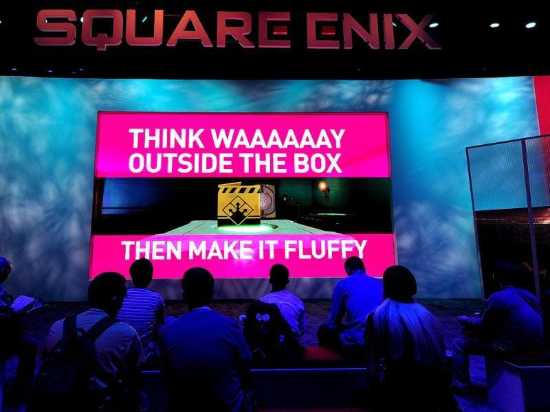 Gaming fans attend the second day of the E3 videogame extravaganza in Los Angeles in California, where sequels to blockbuster console titles and play on smartphones or tablets are being showcased with Times Square-like glitz at the annual event. AFP Photo/Frederic J. Brown