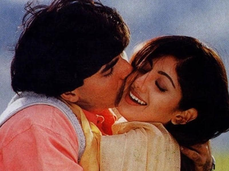 Shilpa Shetty was seen romancing Akshay Kumar and Sunil Shetty in Dhadkan. Dhadkan is rated as one of the best films of her career.