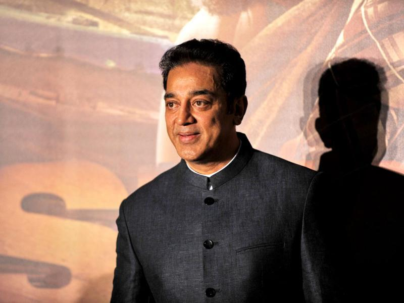 Kamal Haasan also appeared for Shanghai's premiere.