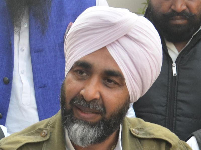 PPP chief Manpreet Badal. HT Photo