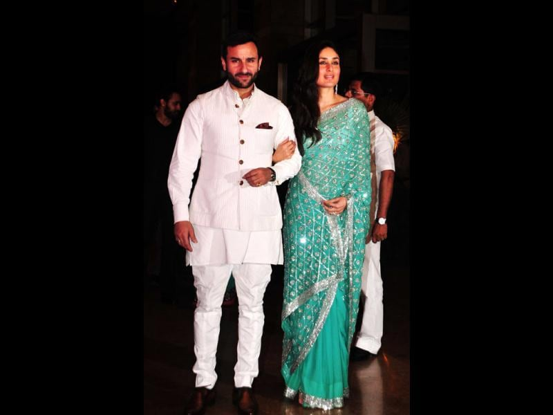 "Even after repeated attempts, Saifeena refused to comment on their October 16 wedding at the Pataudi Palace. ""It's going to be a very low-key affair. There will be a reception too but not a big one,"" said Saif's mother, actor Sharmila Tagore."