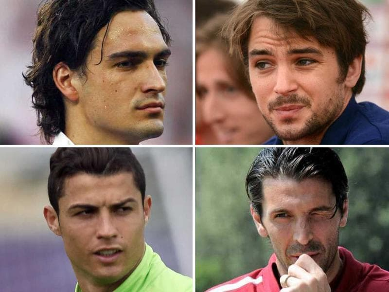 One for the ladies: Our take of the best looking men at Euro 2012.