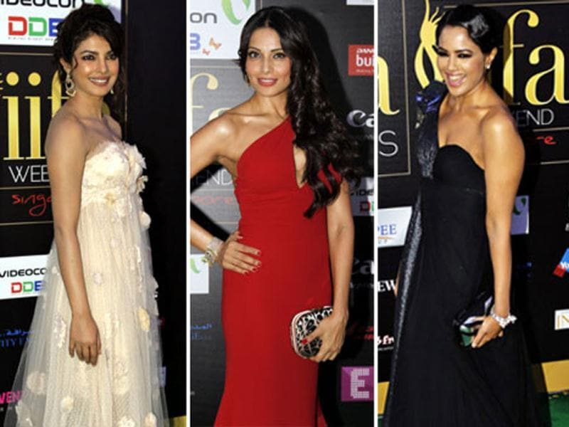 IIFA 2012 is all about glitz, glamour and celebrities. Check out what B-Town hotties are wearing at the big night.