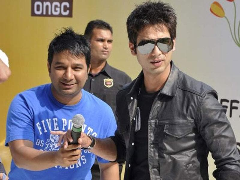 Shahid Kapoor started his career with choreographer Ahmed Khan and is still good friends with him.
