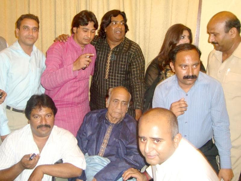 Following a severe illness in the late 80s, Mehdi Hassan stepped down from playback singing. Later due to severity of his illness he completely departed from music.