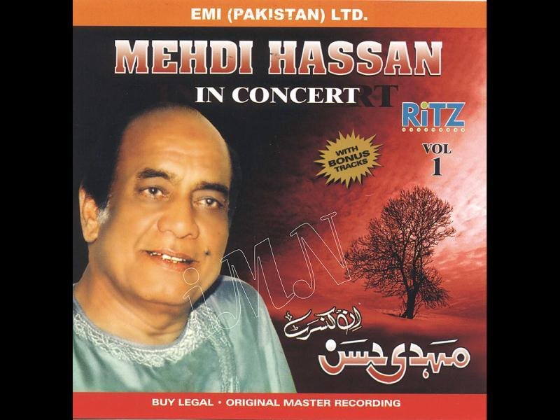 Mehdi Hassan was born in Rajasthan, India in a family of traditional musicians.