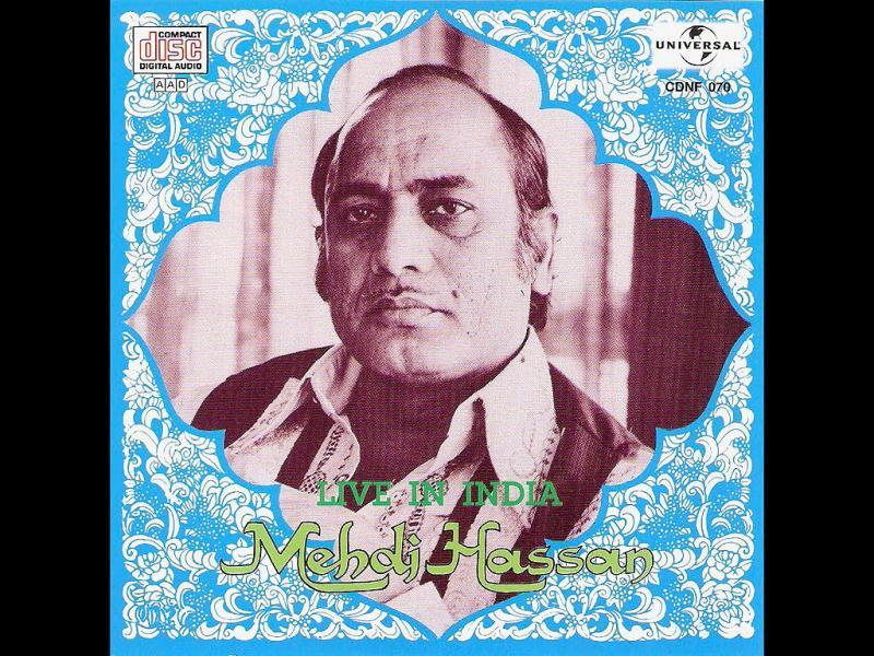 The Pakistani ghazal singer Mehdi Hassan has passed away after suffering from multiple health problems for years. Hassan had multiple lung, chest and urinary tract ailments which were being treated by specialists.