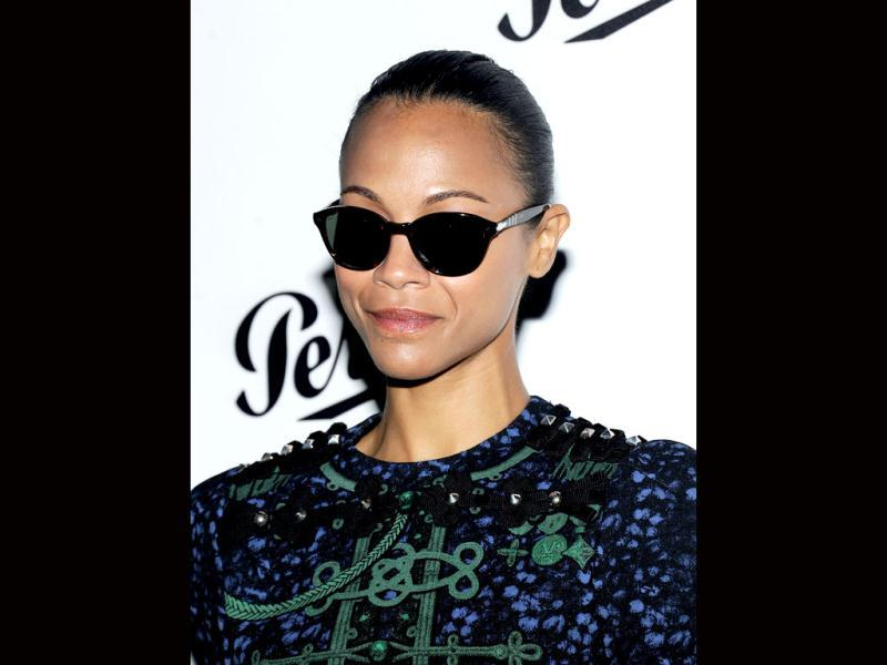 Zoe Saldana attends Persol Magnificent Obsessions: 30 Stories Of Craftmanship In Film Event at Museum of the Moving Image in the Queens burough of New York City. AFP/Jamie McCarthy