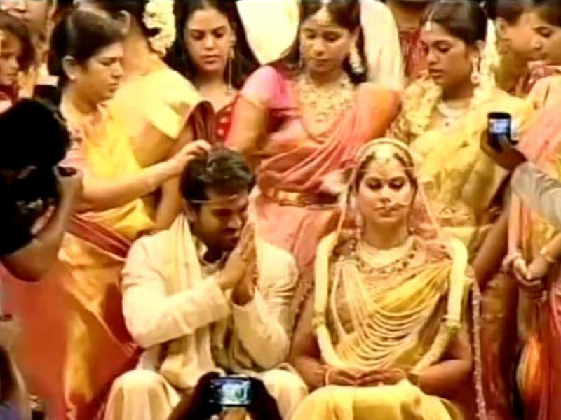 Ram Charan Teja and Upasana got engaged in December last year.