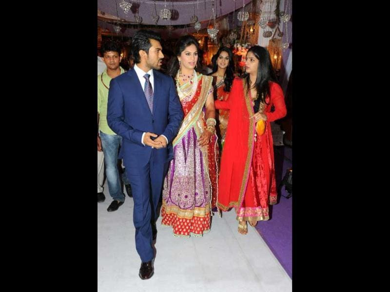 B-Town biggies, politicians and socialites came to bless the newly-wed couple.
