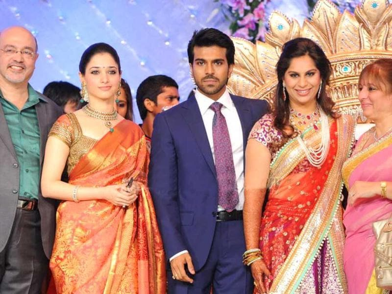 Southern actress Tamanna congratulate the couple.