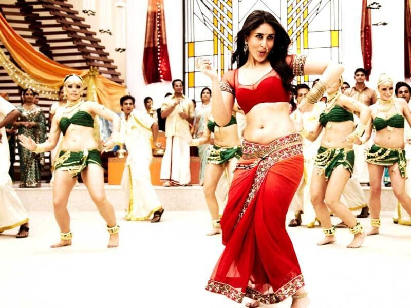 And how can Kareena forget Chammak Challo.