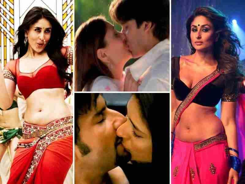 Kareena Kapoor claims Halkat Jawani is her raunchiest number. We don't agree, as in the past, the stunner has done a variety of steamy songs and roles. Don't agree with us? Here's a look.