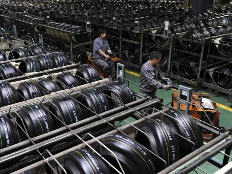 China's factory sector. (Reuters Photo)