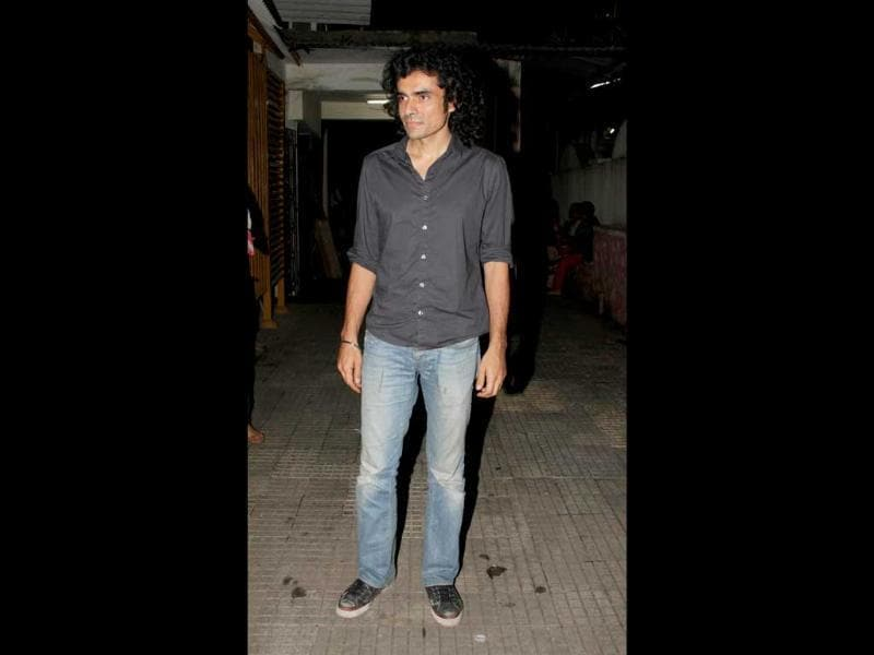 Director Imtiaz Ali also attended the screening.
