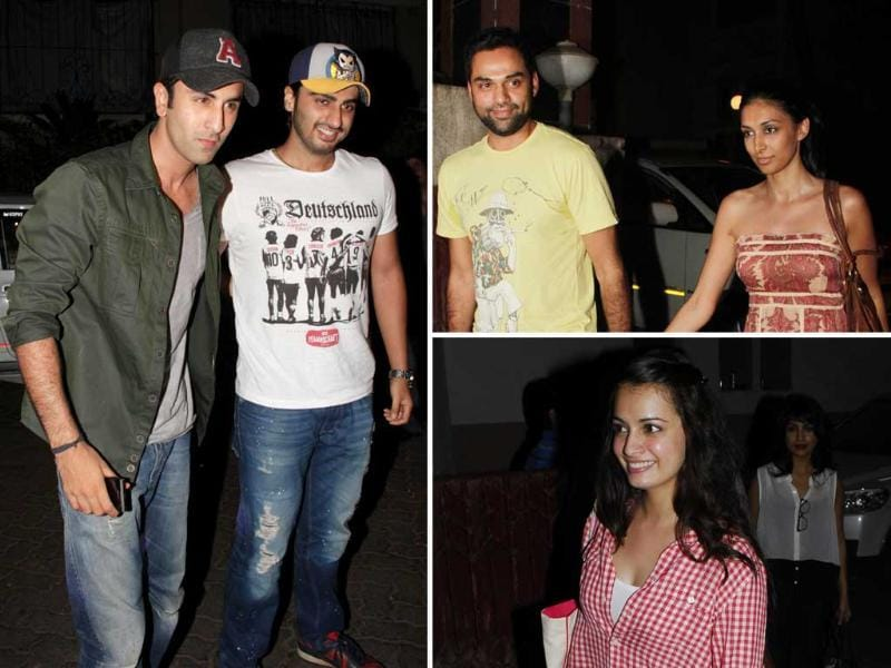 Bollywood celebrities were in full attendance at the special screening of Gangs of Wasseypur. Check out the stars!