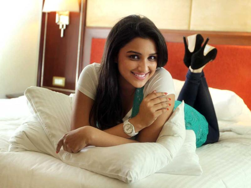 Yet to sign her next film, Parineeti, who was last seen in Ishaqzaade, says that she is in a very happy place.