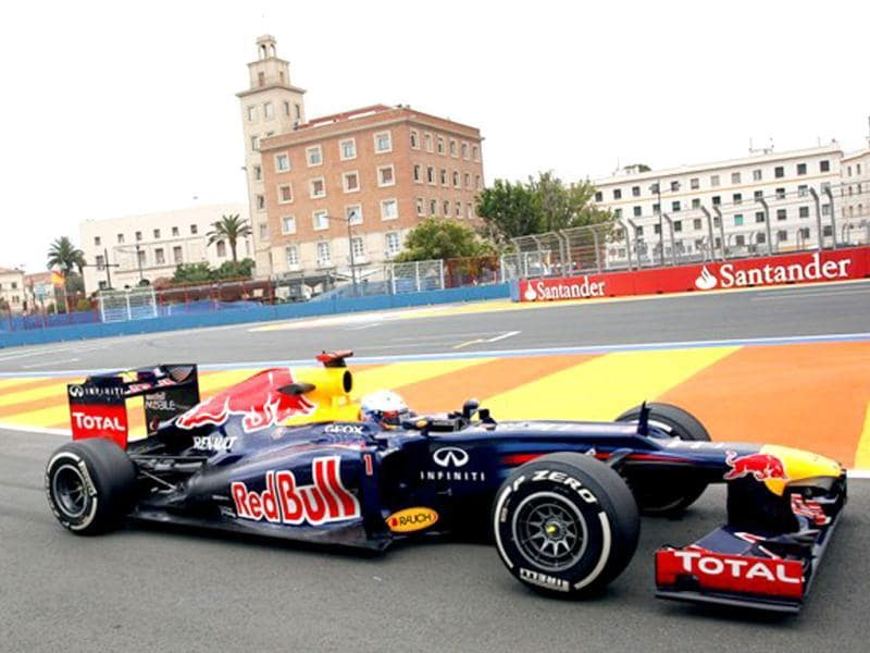 Sebastian Vettel is looking to improve upon his exemplary qualifying record at the Valencia street circuit. AP Photo